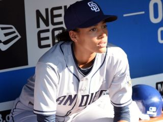 Ginny Baker (Kylie Bunbury) from 'Pitch.' I do not own the rights to this photo.
